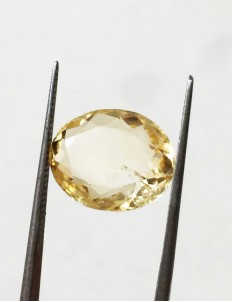 6.50 ratti (5.80 ct) Natural Certified Sunela (Citrine)