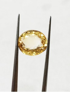 9.00 ratti (8.08 ct) Natural Certified Sunela (Citrine)