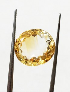 10.60 ratti (9.58 ct) Natural Certified Sunela (Citrine)
