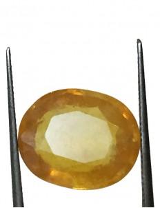 10.21 ct/11.35 ratti Natural Certified Bangkok Pukhraj/Yellow Sapphire