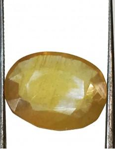 13.79 ct/15.25 ratti Natural Certified Bangkok Pukhraj/Yellow Sapphire