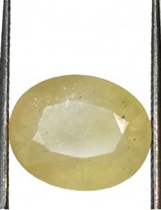 5.89 ct/6.50 ratti Natural Certified Bangkok Pukhraj/Yellow Sapphire
