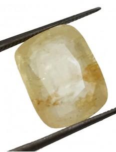 10.09 ct/11.25 ratti Natural Certified Ceylon Pukhraj/Yellow Sapphire