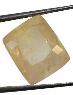 10.48 ct/11.50 ratti Natural Certified Ceylon Pukhraj/Yellow Sapphire