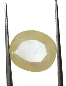 9.13 ct/10.25 ratti Natural Certified Ceylon Pukhraj/Yellow Sapphire